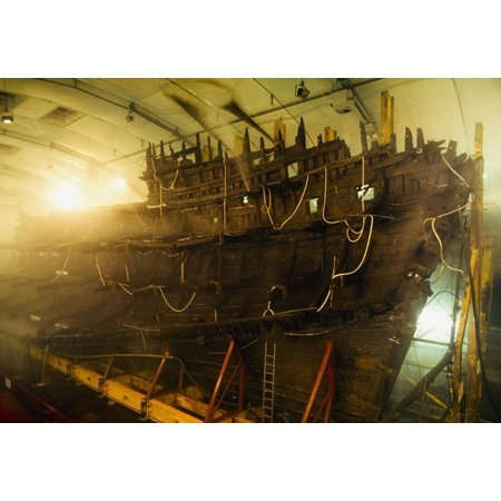 Mary Rose Collection (Shipwreck Of The Mary Rose Portsmouth England Shipwrecked In 1545 And Now On Display In The Portsmouth Historic Dockyard Canvas Art - The Irish Image Collection  Design Pics (18)
