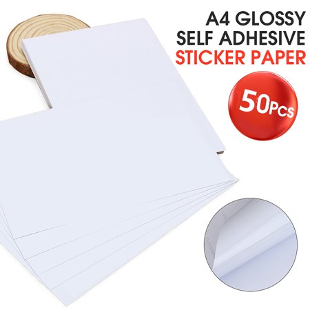 50PCS Photo Paper High Glossy Coated A4 Picture Printing Paper For Home Office Printers-8.5*11