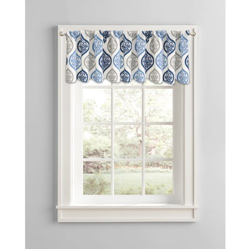 Better Homes and Gardens Damask Ogee Window Valance by Colordrift LLC