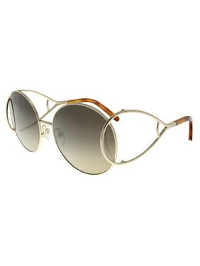 6aebcf607cd2 Product Image Chloe CE124 S 736 Gold-Blonde Round Sunglasses
