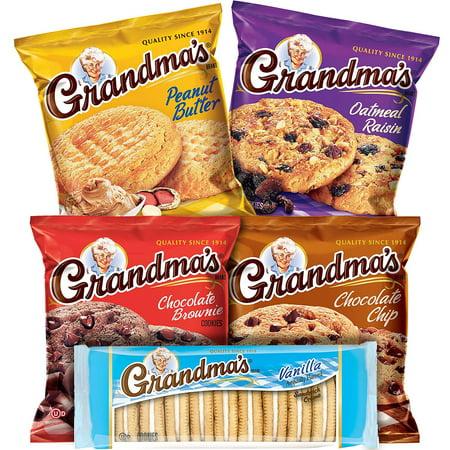 Grandma's Cookies Variety Pack (36 pk.) - 3d Halloween Cookies