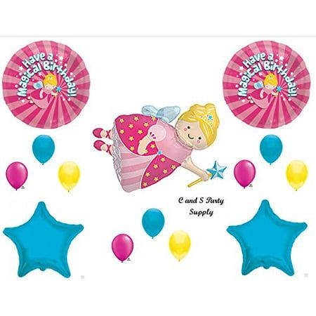 MAGICAL FAIRY GODMOTHER BIRTHDAY PARTY Balloons Decorations Supplies Cinderella - Cinderella Birthday Supplies