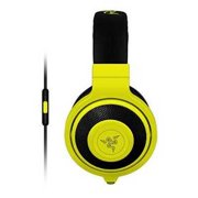 Refurbished Razer Kraken Mobile Analog Music & Gaming Headset-Neon Yellow