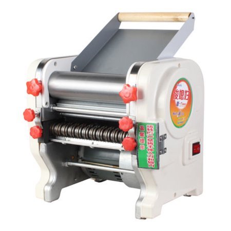 AC 220V Electric Pasta Press Maker Noodle Machine Dumpling Skin Home Commercial ()