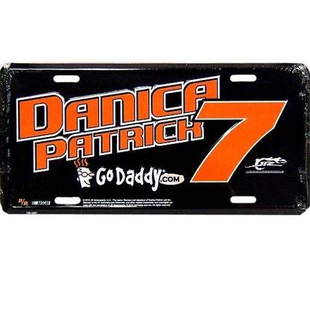 7 Danica Patrick Metal License Plate  Lp Dp10
