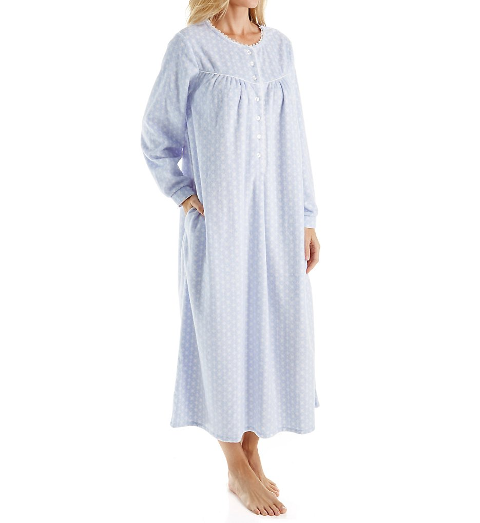 Lanz of Salzburg 5216825 Microfleece Long Gown