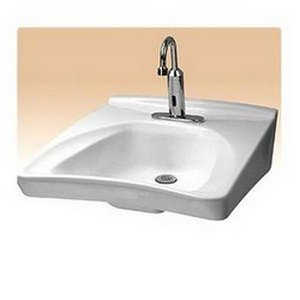 Toto Wall Mount Vitreous China Bathroom Sink LT308.11#01 Cotton White
