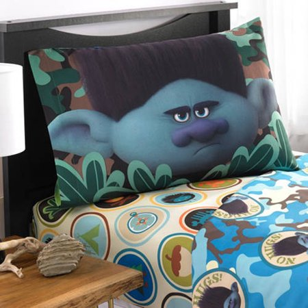 Dreamworks Trolls Branch No More Hugs Full Bedding Sheet