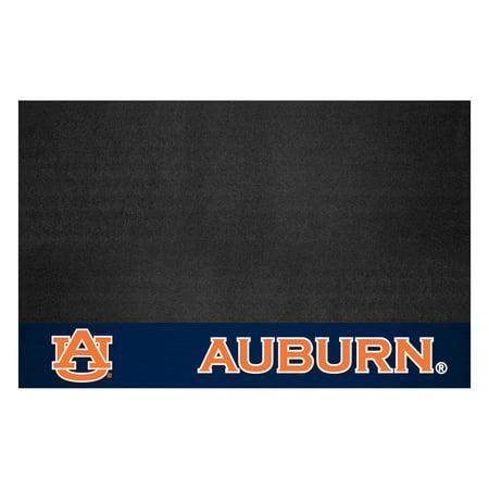 12103 Fanmats College NCAA Auburn University 26 Inch x 42 Inch Non-skid vinyl Oil, flame & UV resistant Grill Mat Auburn Tigers Mats
