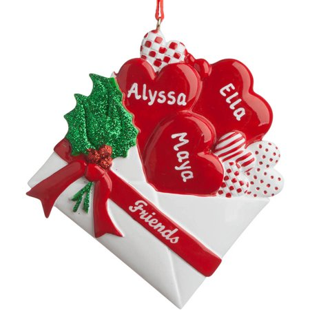 Friends Personalized Christmas Ornament - Personalized Christmas Ornament - Three Friends