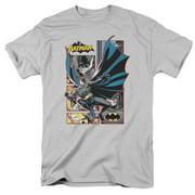 Jla - Batman Panels - Short Sleeve Shirt - XXX-Large