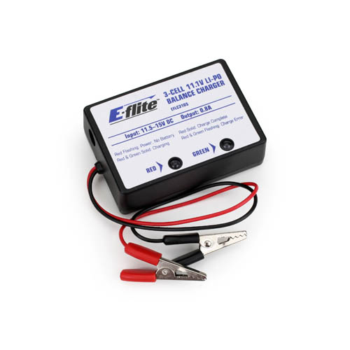 3S LiPo Balancing Charger,0.8A Multi-Colored