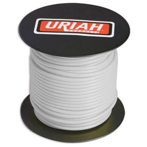 Uriah Products UA521220 Automotive Wire, Insulation, White, 12 AWG, 100-Ft. Spool - Quantity 1