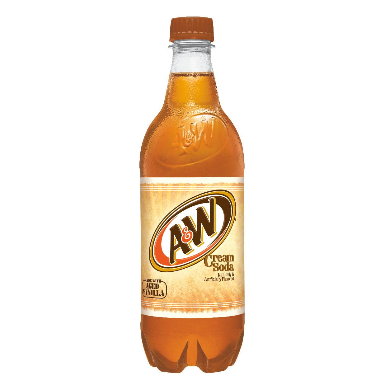 A&W Cream Soda, 0.5 L, 6 pack - Walmart.com