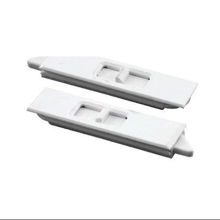 Prime Line Products Pair White Vinyl Window Tilt Latch