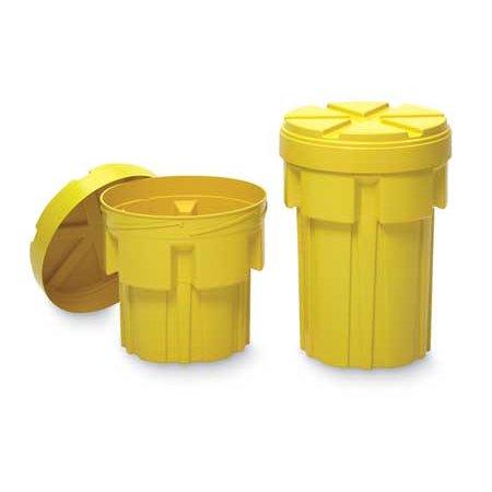 - ENPAC 1220-YE Salvage Drum, Open Head, 20 gal., Yellow