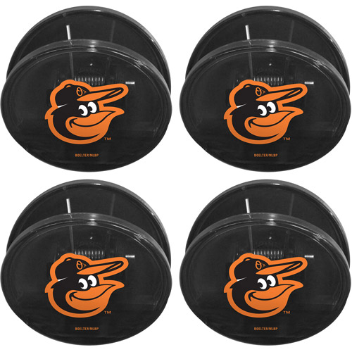 MLB Baltimore Orioles Magnetic Chip Clip Set, 4pk