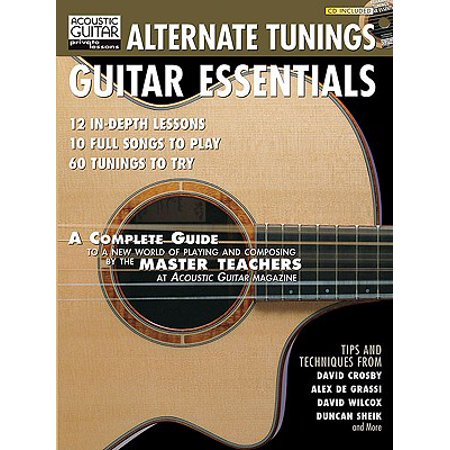 - Alternate Tunings Guitar Essentials