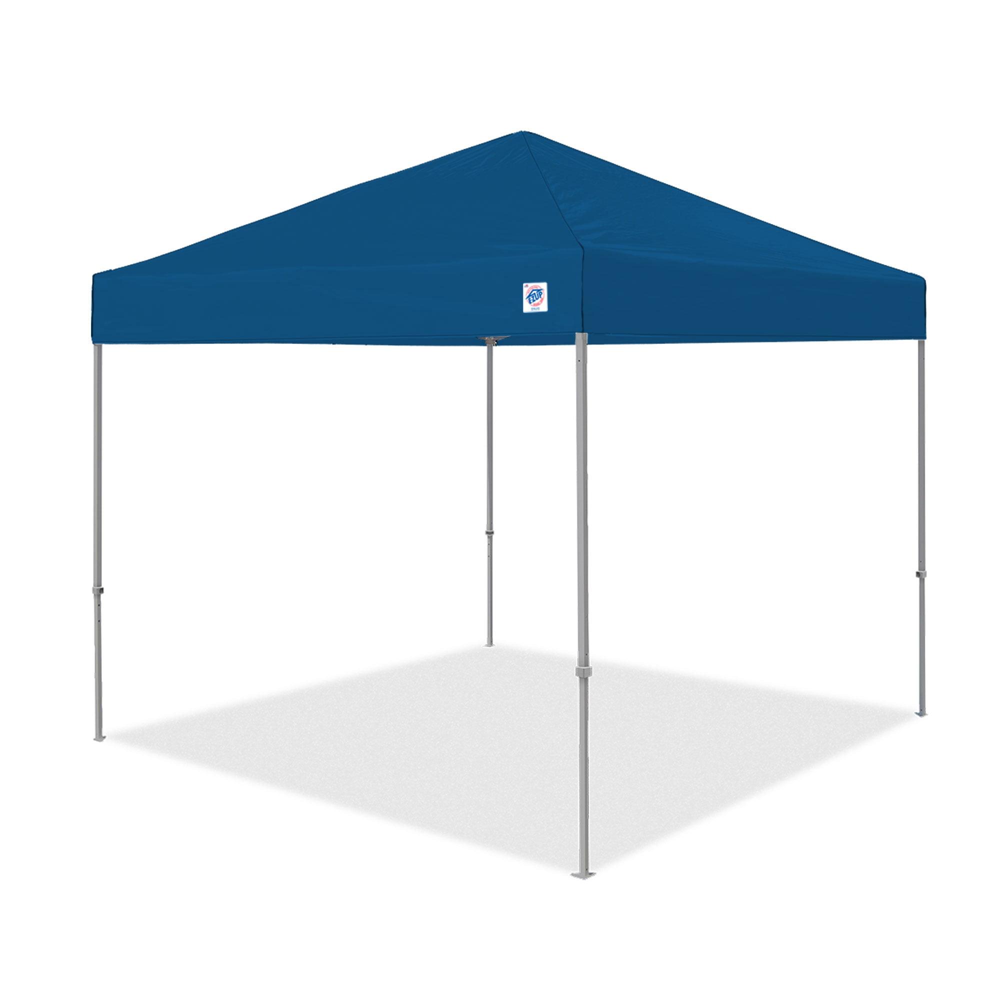 E Z Up Envoy Instant Shelter Canopy 10 X 10 Blue Walmart Com