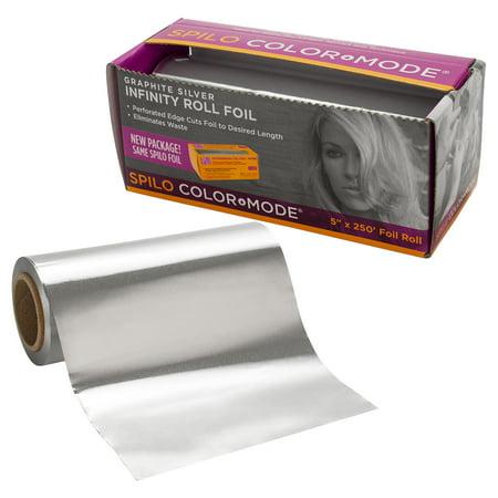 Spilo Graphite Silver Infinity Roll Foil Multi-Purpose 5