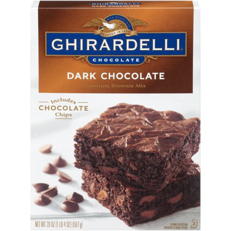 Ghirardelli Dark Chocolate Brownie Mix - 20oz