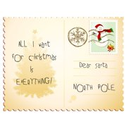 Secretly Designed Dear Santa by Secretly Spoiled Graphic Art
