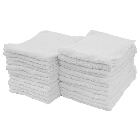 Heavy Duty Terry Cloth - Viking 100 Percent Cotton Terry Cleaning Towel, 24-Pack Cloth