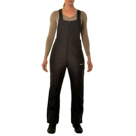 Arctix Women's Classic Insulated Snow Overalls Bib, Black, 3x (Overalls For Hunting)