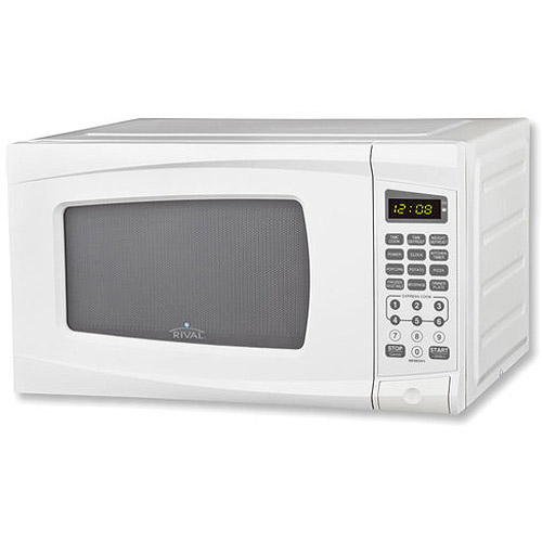 What Generates Microwaves In Microwave Oven: Rival 0.7 Cu. Ft. Digital Microwave Oven