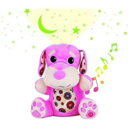 Stella Baby Sound Machine - Nursery Musical Soother, Star Projector Toy, Pink (Star Projector And Sound Machine)