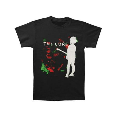 Cure Men's  Boys Don't Cry T-shirt Black