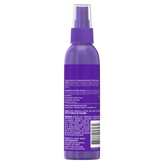 Aussie Headstrong Volume Spray Gel with Bamboo & Kakadu Plum, 5 7 fl oz