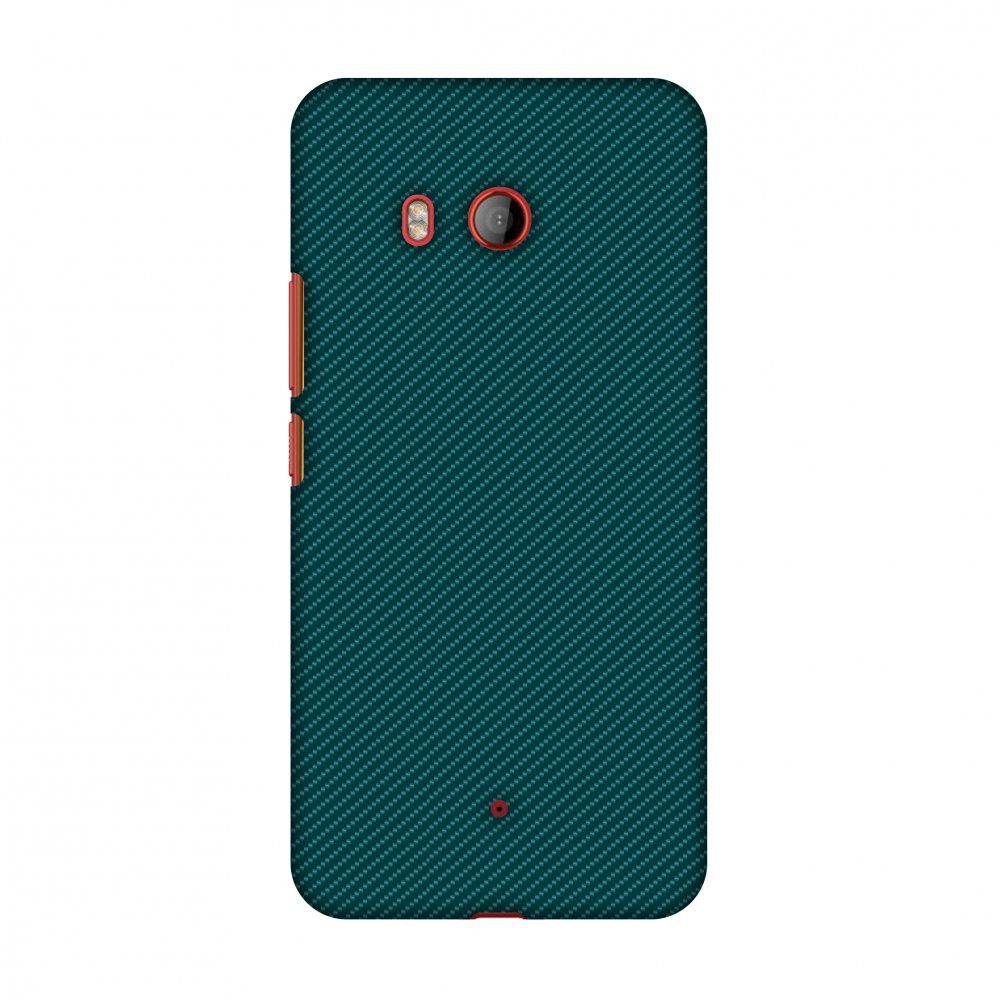 HTC U11 Case, Premium Handcrafted Designer Hard Shell Snap On Case Shockproof Printed Back Cover with Screen Cleaning Kit for HTC U11, Slim, Protective - Shaded Spruce Texture