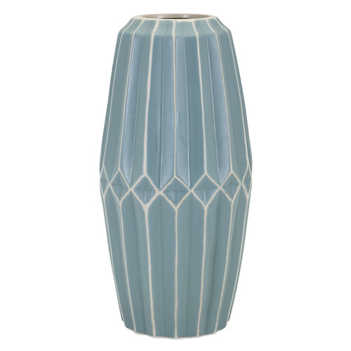 Mistana Cylinder Turquoise Table Vase