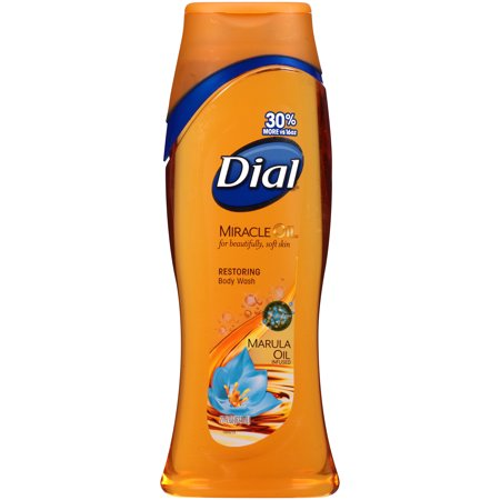 (2 pack) Dial Body Wash, Miracle Oil Marula, 21 Ounce