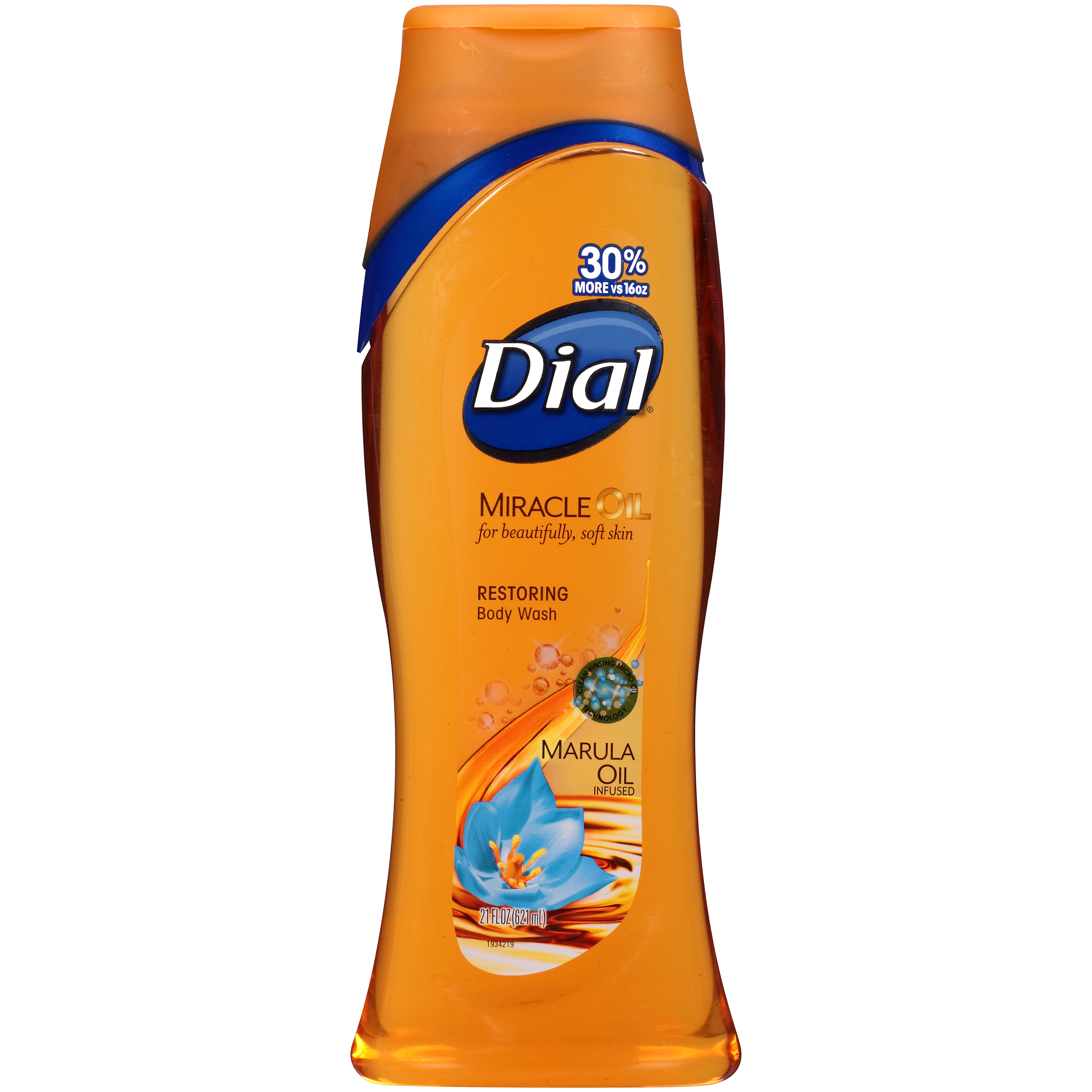 Dial Body Wash, Miracle Oil Marula, 21 Ounce