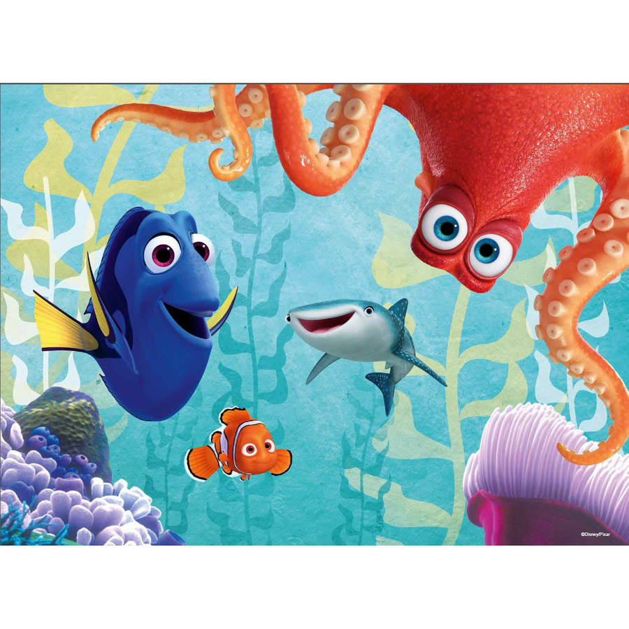 Ravensburger Disney Finding Dory 100-Piece Glow-in-the-Dark Puzzle
