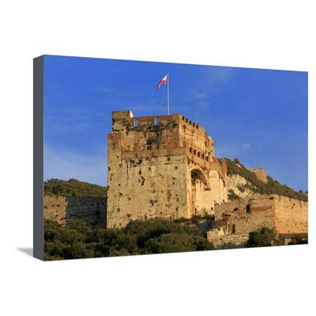 Moorish Castle (Moorish Castle, Gibraltar, United Kingdom, Europe Stretched Canvas Print Wall Art By Richard)