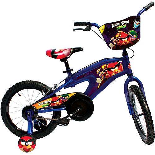 "16"" Street Flyers Angry Birds BMX Bike, Blue"