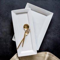 Better Homes & Gardens Porcelain Rectangular Platters, set of 2