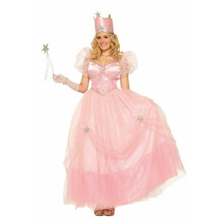 Halloween Good Fairy Witch Adult Costume - Glinda The Good Witch Dress