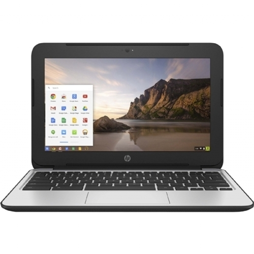 "HP Chromebook 11 G4 Intel Celeron N2840 X2 2.16GHz 4GB 16GB SSD 11.6"" SKIN, Gray (Refurbished)"