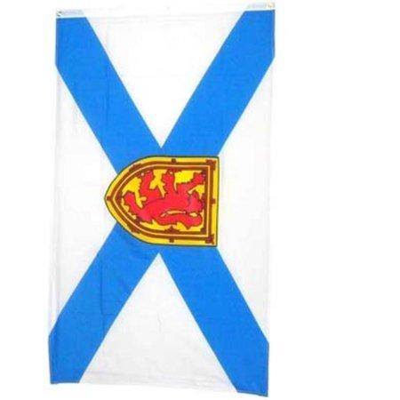 New 3x5 Canadian Province of Nova Scotia Flag Flags, Brand new 3' x 5' (36  x 60) Polyester Nova Scotia flag By NationalCountryFlags,USA