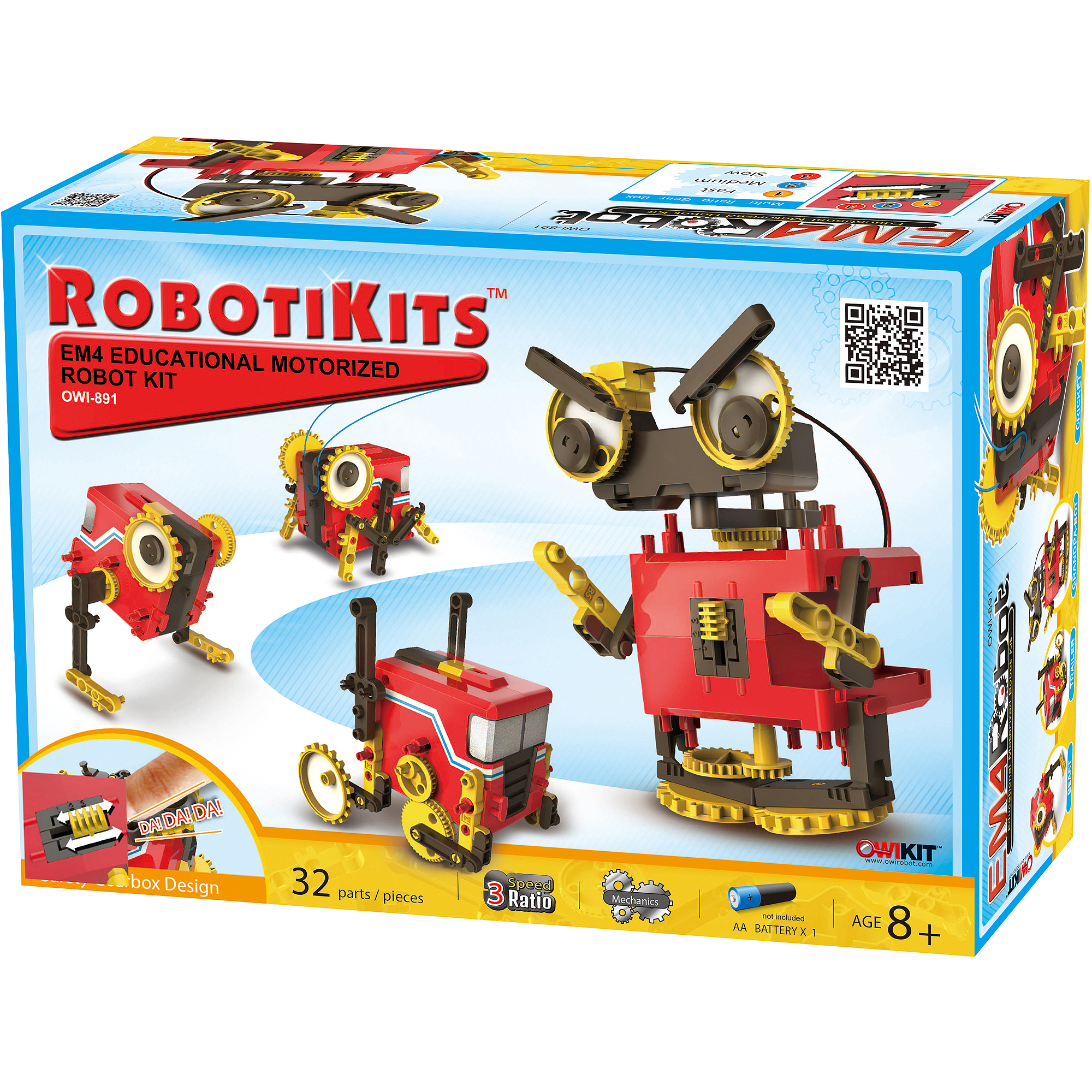 OWI EM4 Educational Motorized Robot Kit by Generic
