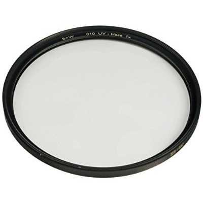 B+W 72mm Clear UV Haze with Single Coating (010)