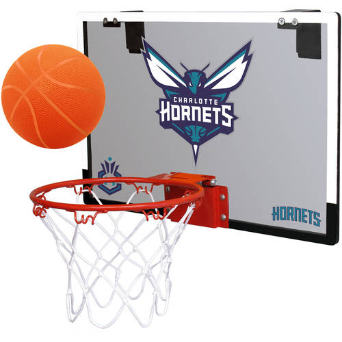 Rawlings NBA Game On Polycarb Hoop Set Charlotte Hornets