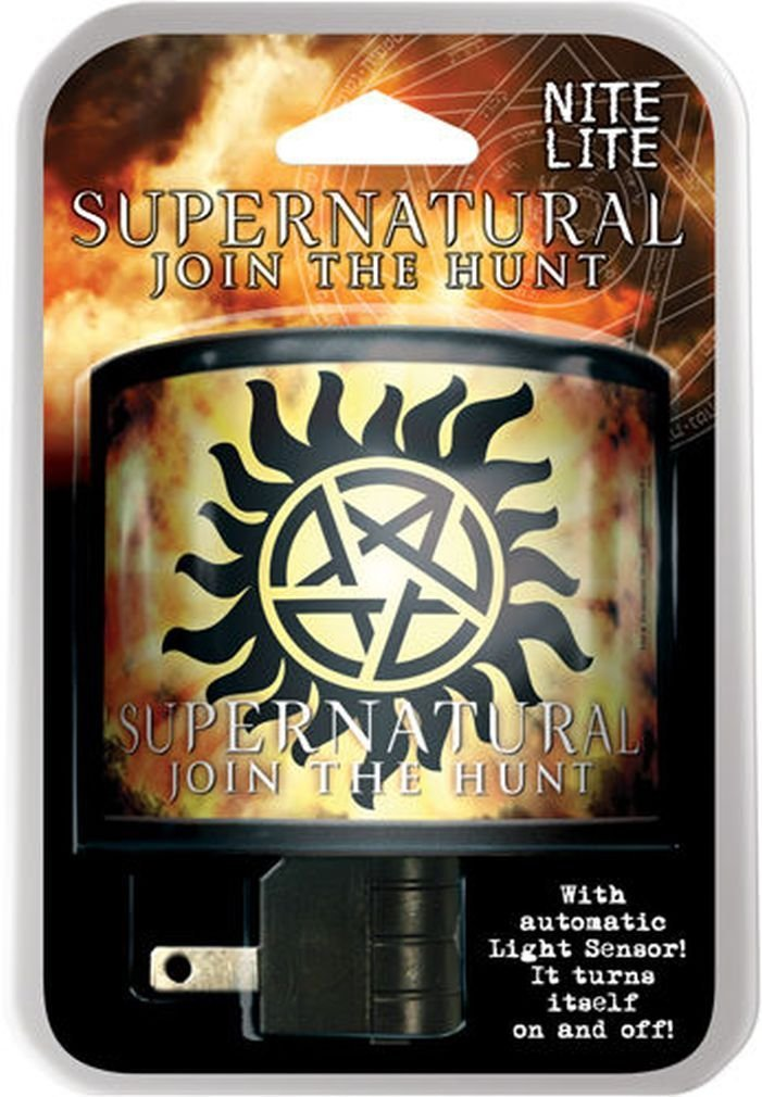 Supernatural Anti-Possession Nite Lite, There's always a good place for a night light in... by
