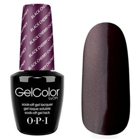 Opi Nail Gelcolor Gel Polish Color Black Cherry Chutney 5oz 15ml Gci43