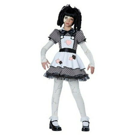 Chico California Halloween (California Costumes Girls Haunted Doll Halloween Costume Costume - Child Size)