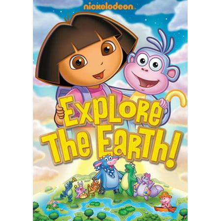Dora the Explorer: Explore the Earth! (DVD) - Dora The Explorer Halloween Episode